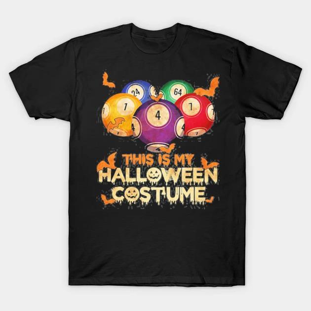 Bingo halloween costume funny gift shirt
