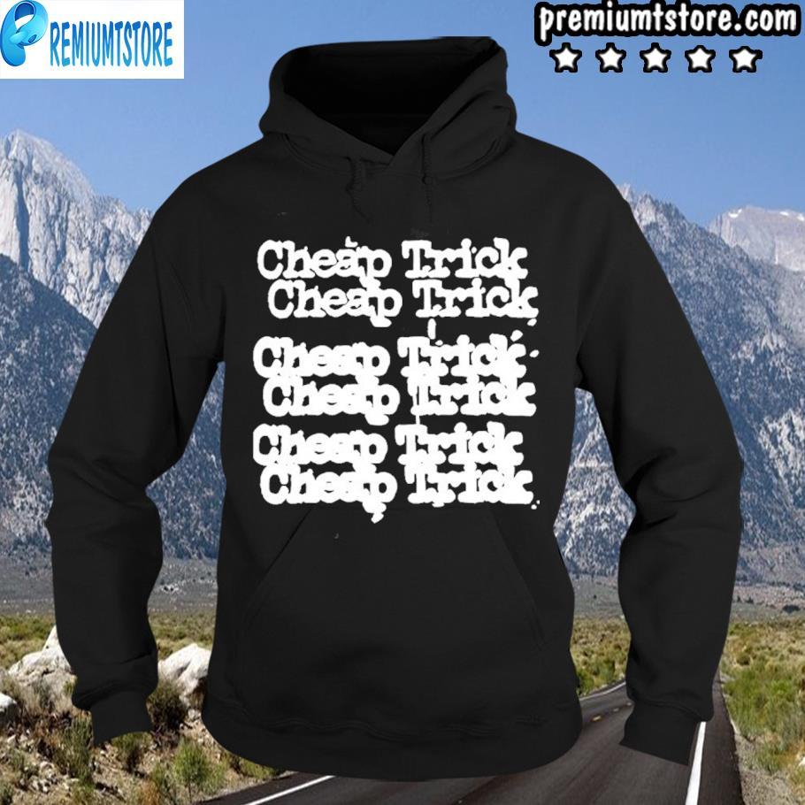 Original cheap tricks tee hoodie-black
